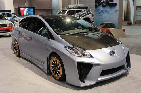 Toyota Prius C&A Custom Concept ไฮบริดแต่งสไตล์ Lamborghini Reventon