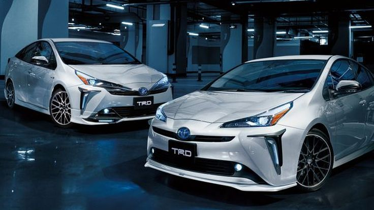 [Tokyo Auto Salon] Toyota Prius พร้อมอวดโฉมชุดแต่ง TRD
