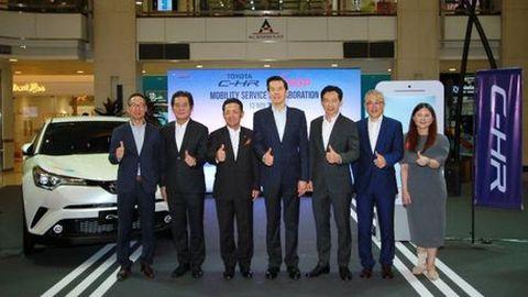 [PR News] Toyota ส่งมอบ C-HR 100 คัน เพื่อธุรกิจ Car Sharing ตอบรับไลฟ์สไตล์การใช้รถของคนรุ่นใหม่