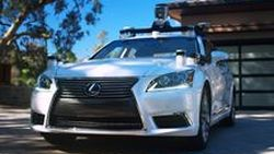 Toyota โชว์รถทดสอบ Lexus LS 600hL สำหรับพัฒนาระบบขับขี่อัตโนมัติ