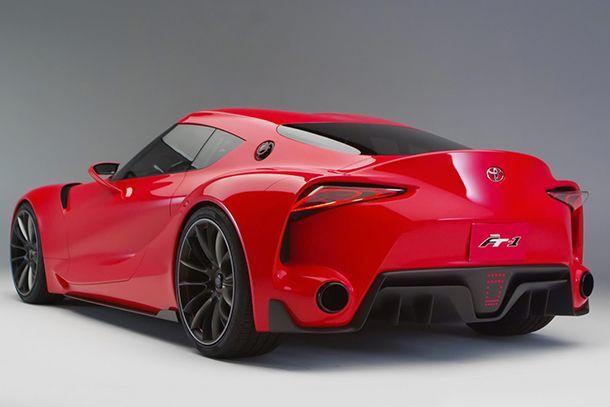 Toyota Supra Concept เตรียมเปิดตัวที่โตเกียว มอเตอร์โชว์ปลายปีนี้