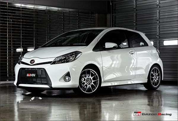 "Toyota เผยโฉมตัวเล็กพลังแรง ""Vitz GRMN Turbo"""