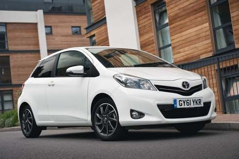 2013 Toyota Yaris Edition และ Trend โตโยต้ายาริส เวอร์ชั่นใหม่ในอังกฤษ