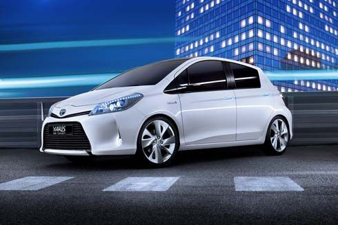 Toyota Yaris HSD Concept เผยโฉมเต็มตัวที่เจนีวา ก่อนลุยตลาดปี 2012