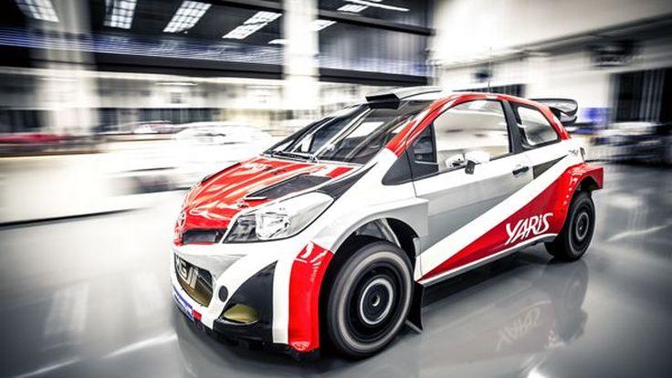 ประธาน Toyota ทดสอบ Yaris WRC ตัวแข่งแรลลี่โลกด้วยตนเอง