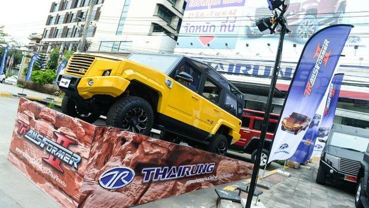 """""""ไทยรุ่ง"""" เปิดตัว TR Transformer II 2.8AT 4WD  ไทยรุ่ง มอเตอร์โชว์ 2019 ย้ำความยิ่งใหญ่แห่งยอดยนต์กรรมไทย"""