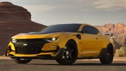 "บัมเบิลบีกลับมาแล้ว ""Chevrolet Camaro"" ในทรานส์ฟอร์เมอร์ส 5"