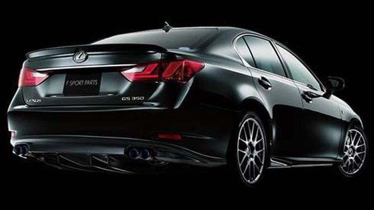 Lexus GS 350 และ 450h รุ่นปี 2013 สปอร์ตขึ้นด้วยชุดแต่งอัพเกรด TRD F-Sport