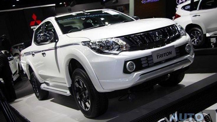 [TIME2016] Mitsubishi โชว์ปิกอัพรุ่นพิเศษแต่งเสริมเติมความดุอีกขั้นกับ Triton Limited Edition