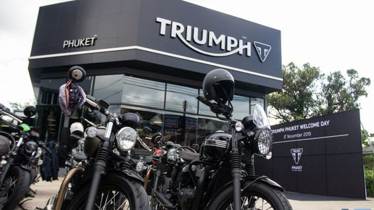 Triumph ภูเก็ต ปรับโฉมใหม่ ให้โชว์รูมและศูนย์บริการได้มาตรฐานระดับโลก