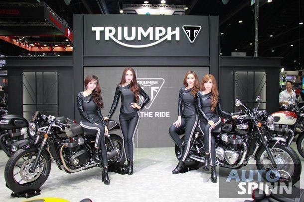 Triumph คาดปีนี้ปิดยอดที่ 2,400 คัน เตรียมขยายตัวแทนจำหน่ายเป็น 12 สาขาในไตรมาสสองปีหน้า