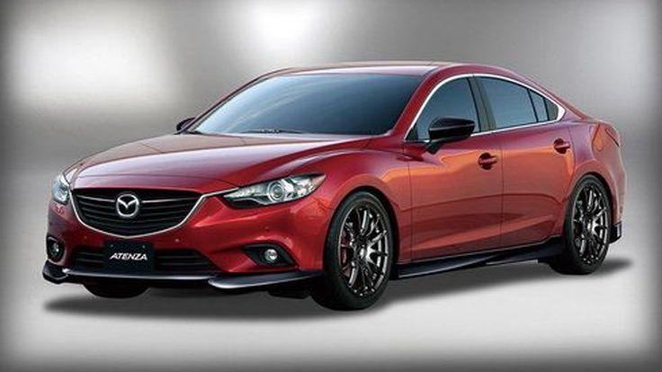 Mazda เน้นแต่งดุดัน ซีดานขนาดกลาง Mazda6 และ CX-5 ที่โตเกียว ออโต้ ซาลอน