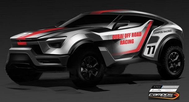 เท่ไม่เบา !! แนวคิดรถยนต์ จากซารู มอเตอร์ ที่มีแรงบันดาลใจจากการใช้ชีวิตบนทะเลทราย