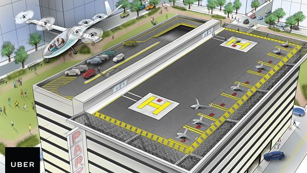 """Uber เตรียมให้บริการ """"รถแท็กซี่บินได้"""" ภายในปี 2020"""