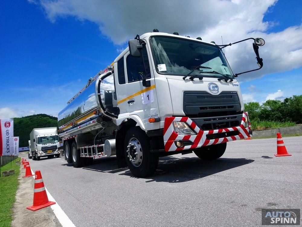 UD Trucks เปิดตัวรถบรรทุกใหม่พร้อมกัน 2 รุ่น Quester,Croner