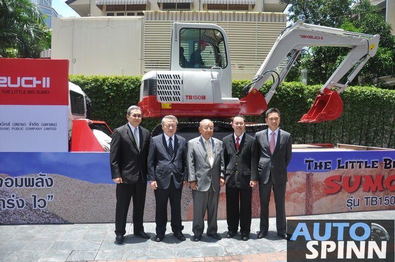 UMWS  นำเข้ารถขุดตีนตะขาบ 'Takeuchi' จากญี่ปุ่น ชูสมรรถนะเยี่ยม ลุยตั้ง 12 ดีลเลอร์ทุกภูมิภาค