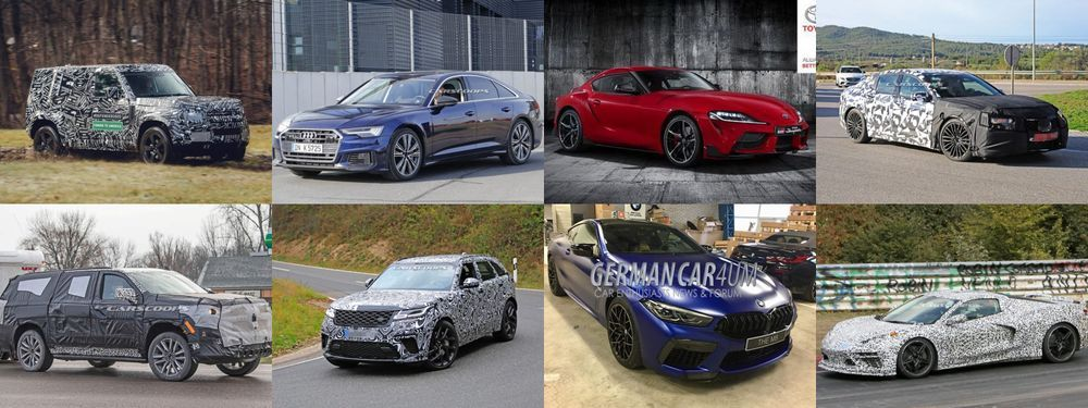 ส่องรถใหม่ในเตรียมทยอยเปิดตัวในปี 2019 จากฝั่งต่างประเทศ