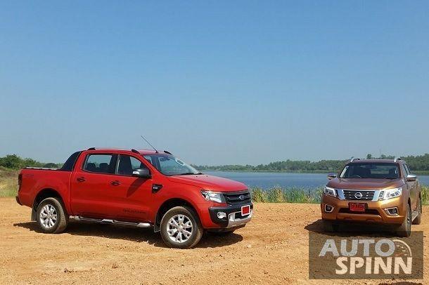 ชมวีดีโอทีเซอร์ เมื่อ Nissan NP300 Navara ปะทะ Ford Ranger 3.2