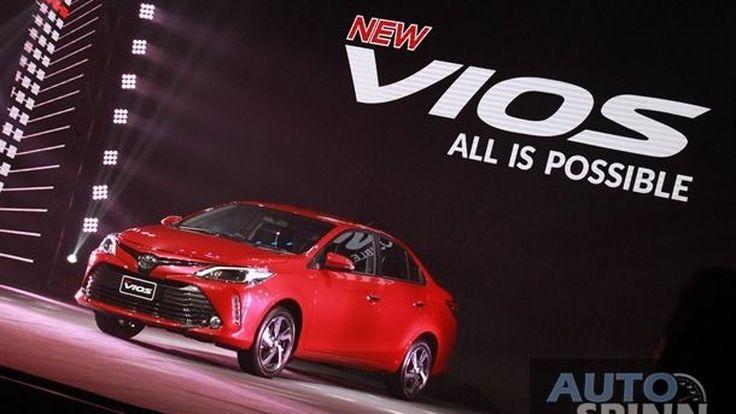 [VDO Launched] 2017 Toyota Vios ปรับครั้งเล็กเสริมไฟเดย์ไลท์ราคาพุ่งไปอีก
