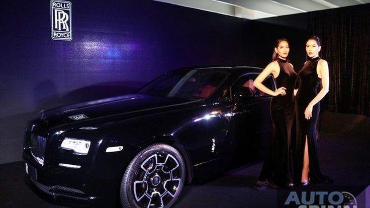 [Launched VDO] ชมคลิปงานเปิดตัว ยนตกรรมหรูรุ่นพิเศษ Rolls-Royce Wraith Black Badge กับความอลังการณ์ขั้นสุด