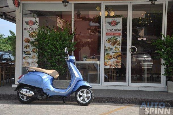 VDO Review Vespa Primavera 150  รถ Scooter สมัยใหม่ แฝงกลิ่นอายของ Classic Vespa