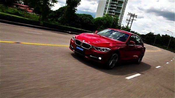"""ตัวอย่าง [VDO] ขับทดสอบ BMW 328i Sport  """"ร้อนแรง..ระดับ 218 ม้า"""""""