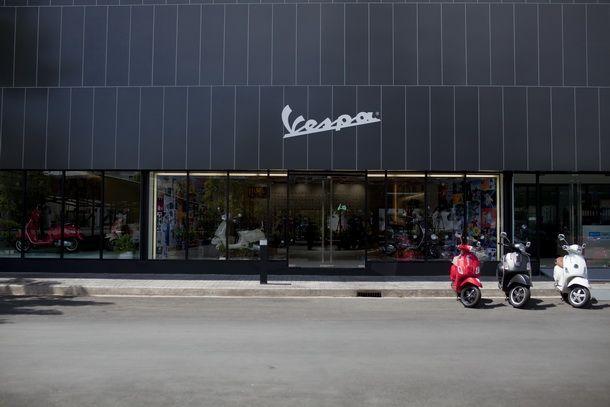 Vespa Flagship Store ขยายวันเปิดทำการในวันอาทิตย์