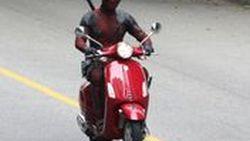 รถสกู๊ตเตอร์ Vespa Primavera จะปรากฎตัวอยู่ใน Deadpool 2 ด้วย