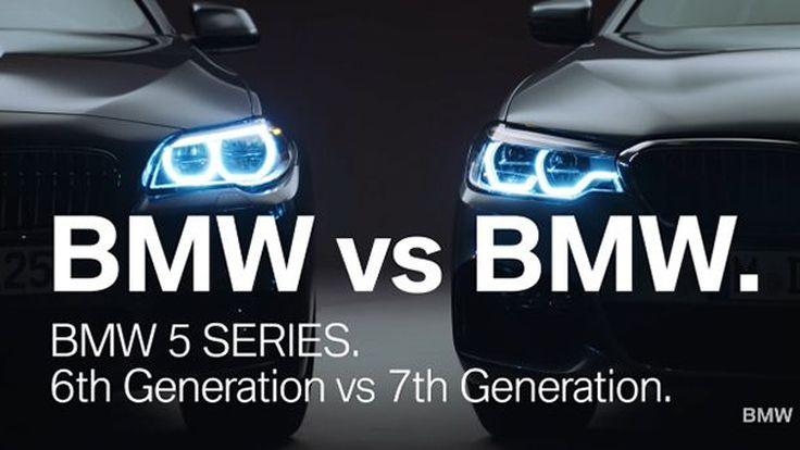 [Video] เปรียบเทียบ BMW 5 Series ตัวถัง G30 และ F10 มีอะไรใหม่บ้าง