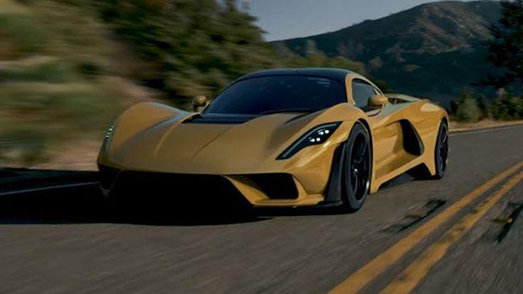 ชมวีดีโอกันบ้าง Hennessey Venom F5 ไฮเปอร์คาร์ที่เร็วที่สุดในโลก