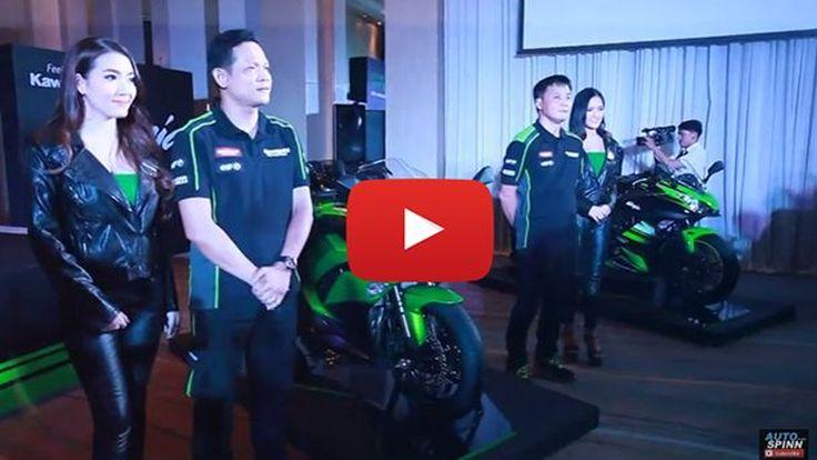 [Video Launch] เปิดตัว 3 ซูเปอร์ไบค์ตัวทีเด็ดของ Kawasaki