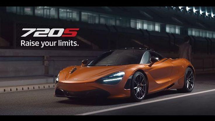 """ขนลุก! โฆษณา McLaren 720S ใส่เสียงไอร์ตัน เซนน่า """"ก้าวให้พ้นขีดจำกัดของคุณ"""""""