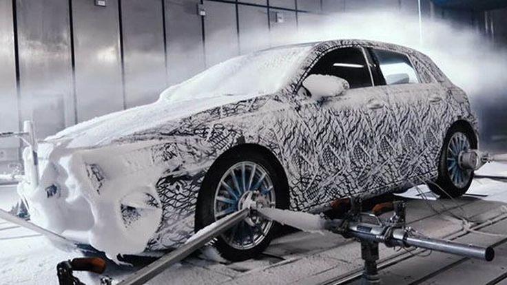 วีดีโอทีเซอร์ 2019 Mercedes-Benz A-Class ทดสอบในอากาศหนาวเหน็บ
