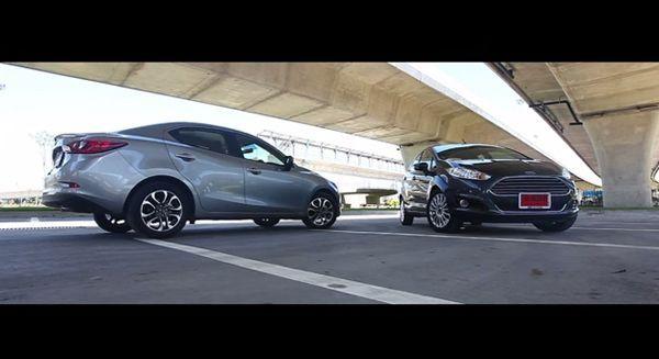 [Video Teaser] ทดลองขับ Mazda 2 ปะทะ Ford Fiesta Ecoboost
