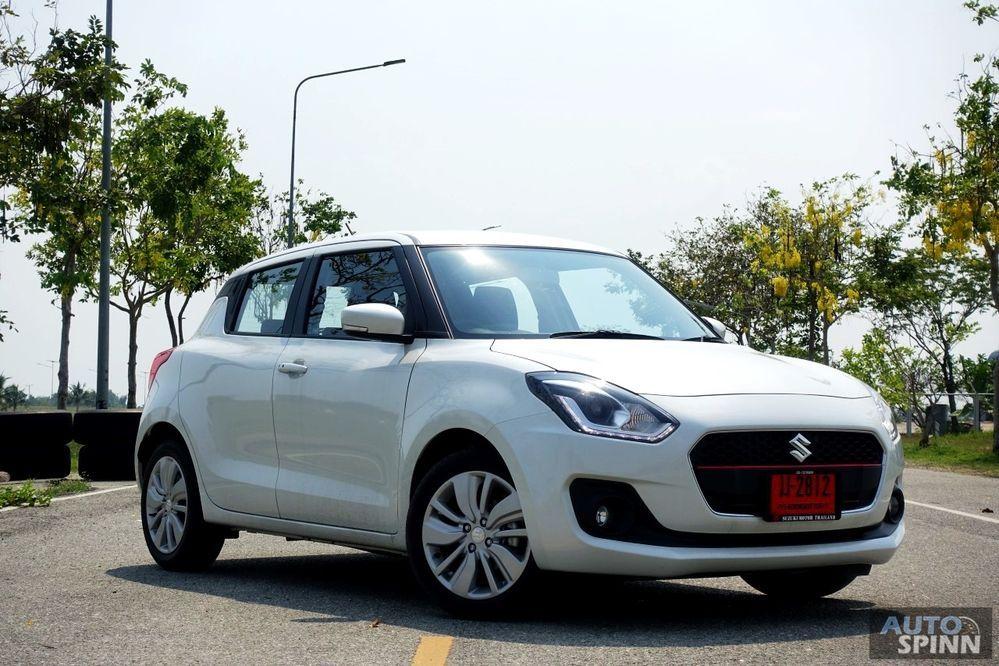ทดสอบ All-New Suzuki SWIFT รุ่นใหม่ สมรรถนะดี ออพชั่นแน่น ดีไซน์โดนใจวัยรุ่น