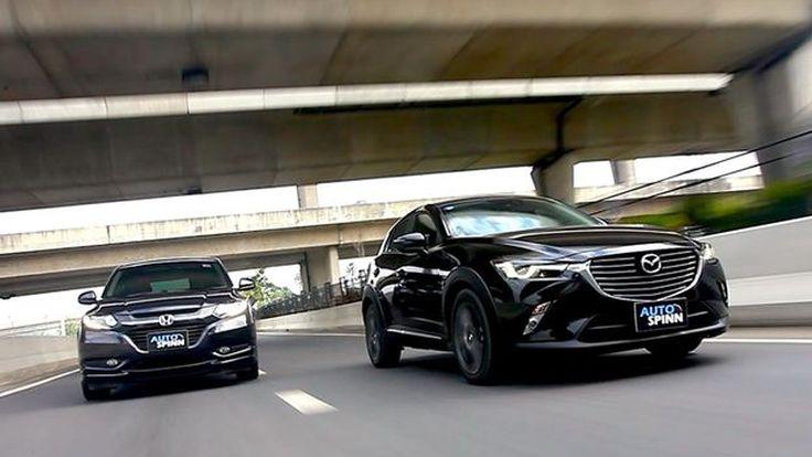 [วีดีโอทดสอบขับ] Honda HR-V ดวลเดือด Mazda CX-3 ชิงผู้นำครอสโอเวอร์
