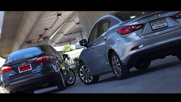 [Video] ชมเลย ทดสอบขับ Ford Fiesta ดวล Mazda 2
