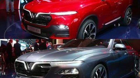 [Paris Auto Show 2018] เปิดตัวรถสัญชาติเวียดนาม VinFast LUX SA2.0 SUV และ A2.0 Sedan