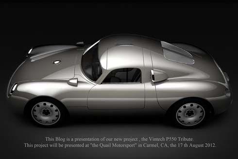 Vintech ผลิต Porsche 550 ยุคใหม่ เอาใจคนรักรถสปอร์ตคลาสสิก