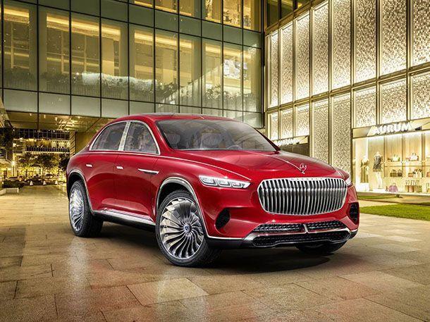 เผยโฉม Vision Mercedes-Maybach Ultimate Luxury รถครอสโอเวอร์แห่งอนาคต