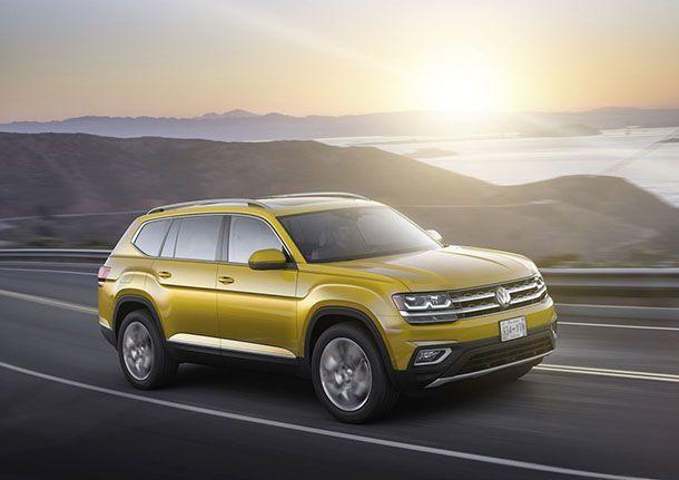 Volkswagen เปิดตัว Atlas รถครอสโอเวอร์เบาะสามแถวรุ่นล่าสุด
