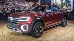 Volkswagen Atlas Tanoak คอนเซปต์ปิกอัพรุ่นใหม่ของค่าย ที่มาพร้อมความทันสมัยทั้งเส้นสายและการดีไซน์