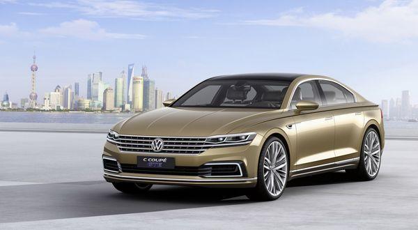 Volkswagen C Coupé GTE อาจเป็นต้นแบบของ Phaeton เจนเนอเรชั่นใหม่