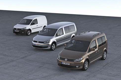 Volkswagen Caddy คอมแพคท์แวน ไมเนอร์เชนจ์ปี 2011 เพิ่มเครื่องยนต์ทางเลือกเต็มอัตรา
