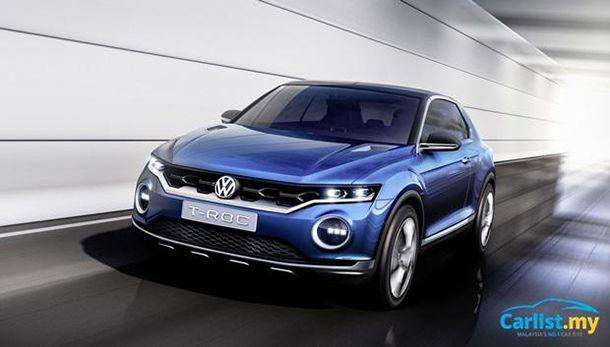 """Volkswagen เดินหน้าพัฒนารถครอสโอเวอร์รุ่นใหม่บนพื้นฐาน """"Golf"""""""