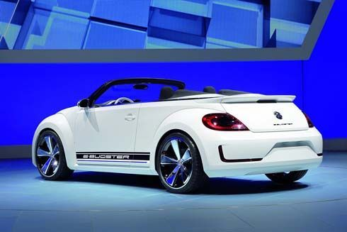 Volkswagen E-Bugster Concept อัพเกรดใหม่ ไปอวดโฉมที่ Beijing Auto Show