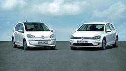 Volkswagen เผยโฉมสองรถไฟฟ้า e-Golf และ e-up! โชว์ตัวแน่ที่แฟรงก์เฟิร์ต