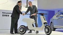 Volkswagen E-Scooter Concept สกู๊ตเตอร์ไฟฟ้า เปิดตัวที่ Auto Shanghai 2011