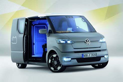 Volkswagen eT! Concept รถเพื่อการพาณิชย์อัจฉริยะ เคลื่อนที่ได้ตามสั่งแบบไร้คนขับ
