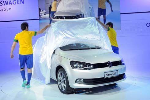 เผยโฉม Volkswagen Gol รุ่น 3 ประตู คู่แข่ง Chevrolet Onix และ Hyundai HB20